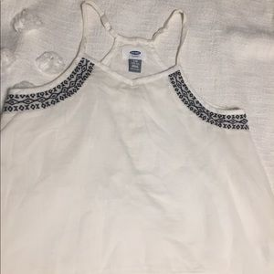 Girls size 10-12 old navy tank top